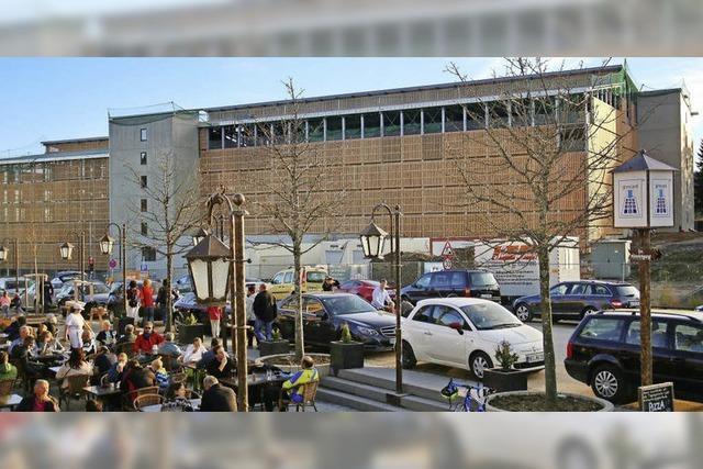 Mehr als 1200 Parkplätze unter einem Dach