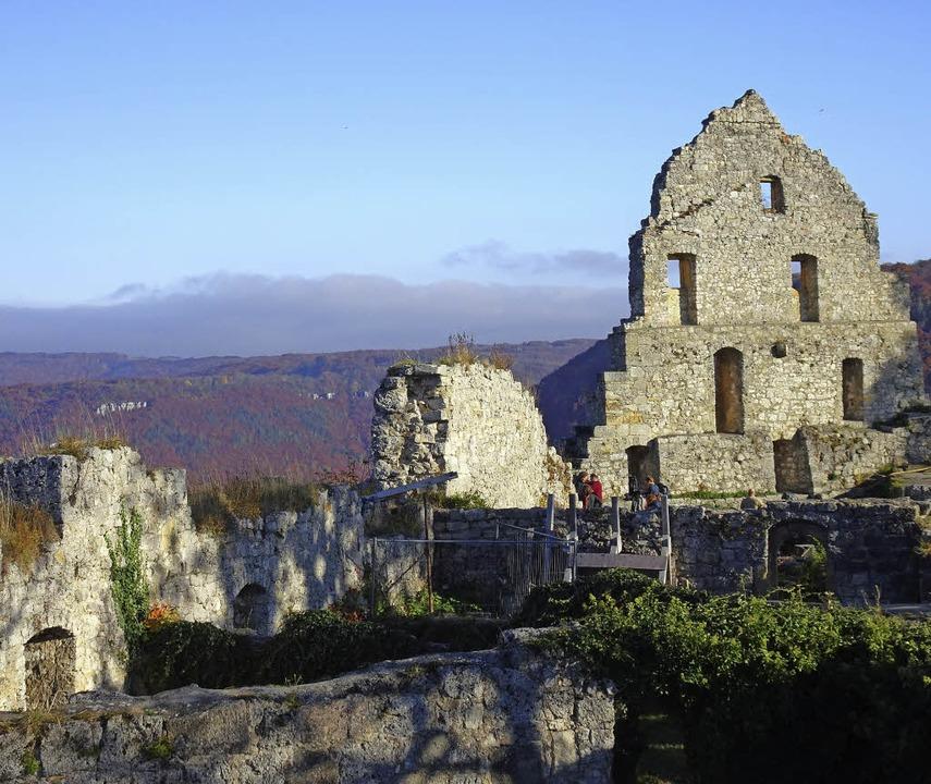 Landesfestung: Ruine der  Burg der Grafen von Urach  | Foto: Rolf Müller