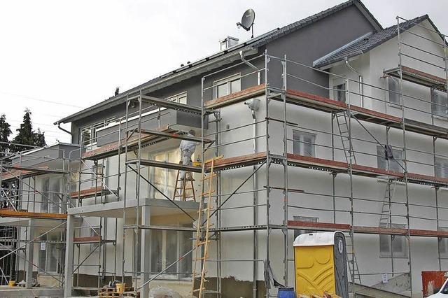 Modernes Wohnen mit viel Komfort