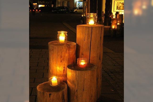 In Schopfheim findet das Lichterfest statt