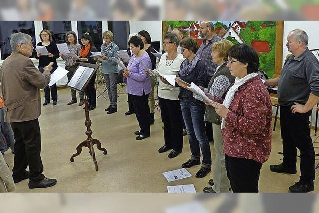 Kirchenchor feiert 2016 seinen 40. Geburtstag