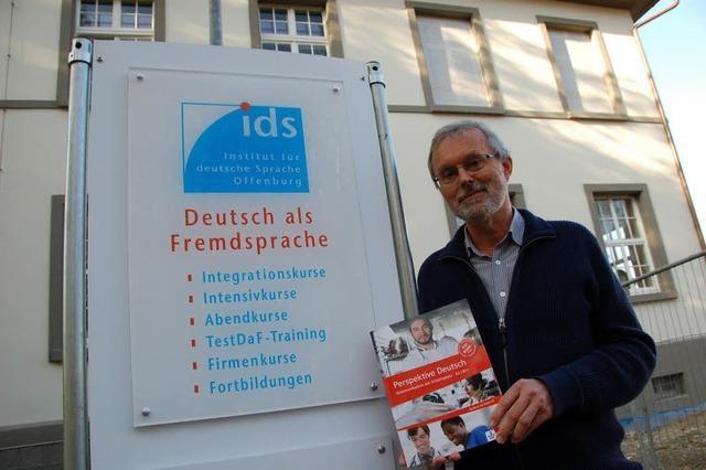 Institut für Deutsche Sprache bietet Crashkurse für bis zu 600 Flüchtlinge an