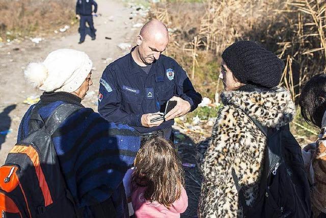 Grenzen auf Balkanroute teilweise dicht