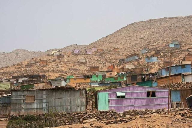 Knappes Gut: Wasser für die Wüstenstadt Lima