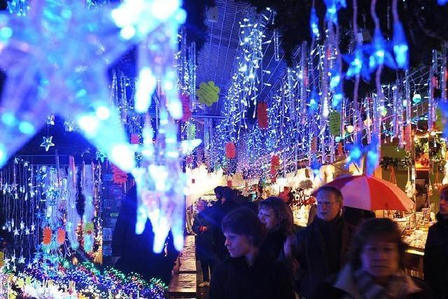 Straßburger Weihnachtsmarkt findet trotz Terrorangst statt