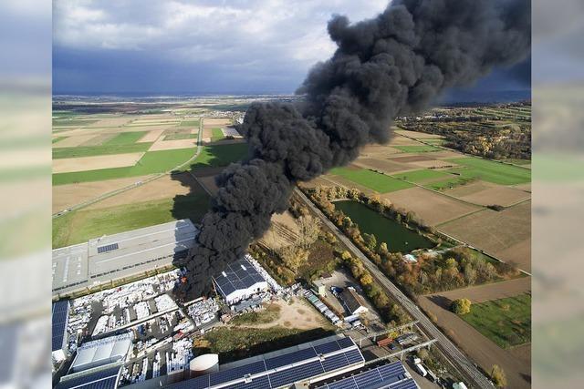 Rauchwolke blockiert Zugverkehr