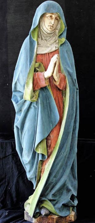 Statue an der Chorwand in Liel: Maria  | Foto: privat