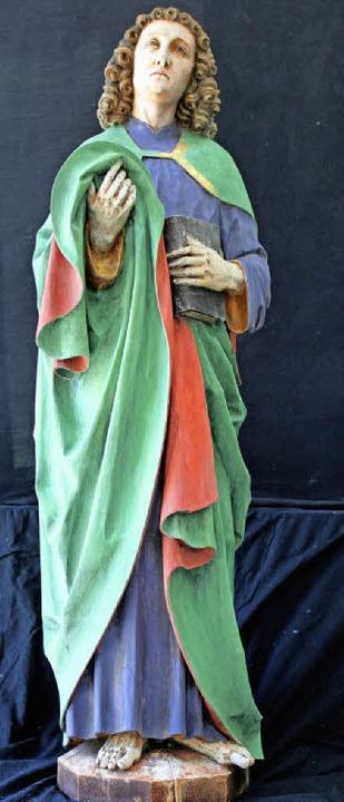 Statue an der Chorwand in Liel: Johannes  | Foto: privat