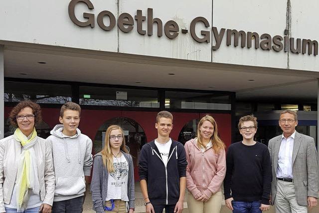 Wie am Goethe-Gymnasium Talente gefördert werden