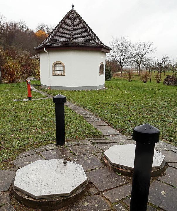 Derzeit wird vom Tiefbrunnen Oberschop... ins Friesenheimer Netz eingespeist.      Foto: Christoph Breithaupt