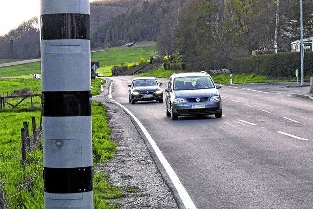 Neue Blitzer sollen 100.000 Euro Mehreinnahmen bringen
