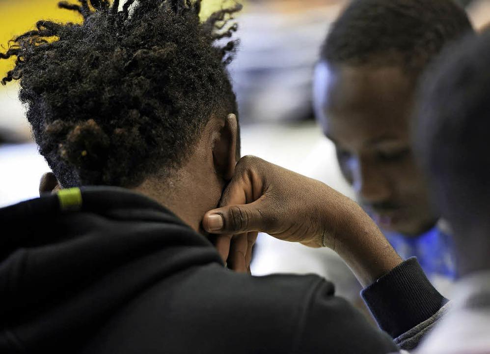 170 Flüchtlinge sollen nach Löffingen kommen.   | Foto: dpa/Felix Kästle