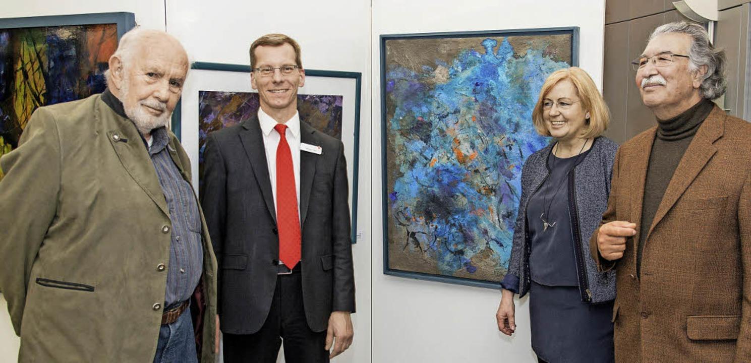 Kleine Reihe - Große Kunst zu Gast in ...n Bekker und Chodja Sediq im Gespräch.  | Foto: Olaf Michel