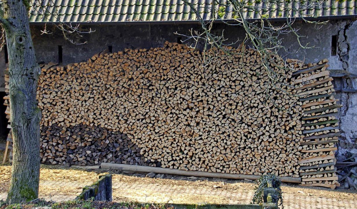 Holz liefern die Wälder um Gundelfingen und Heuweiler.     Foto: Frank Kiefer