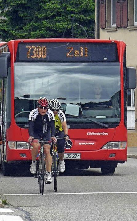Bus über den Feldberg   | Foto: gra