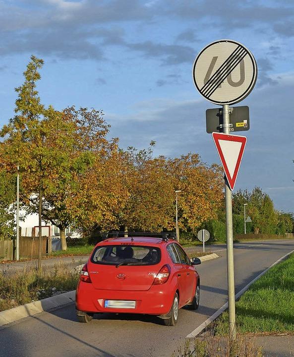 Viele Autofahrer geben Gas, sobald sie...n – zum Leidwesen der Anwohner.     Foto: vL