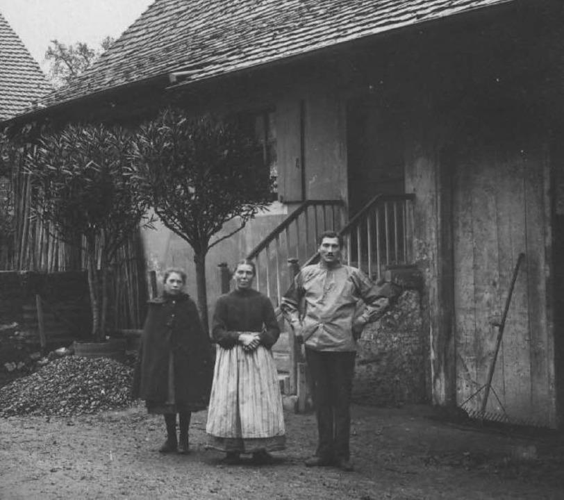 Das Haus der Familie  Brogle. Hier war Leo Kakala als Landarbeiter eingesetzt.   | Foto: Privat