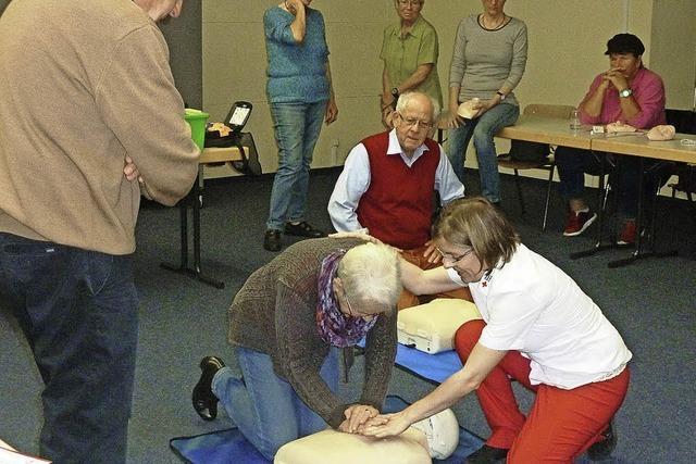 Auch im Alter fit für den Notfall