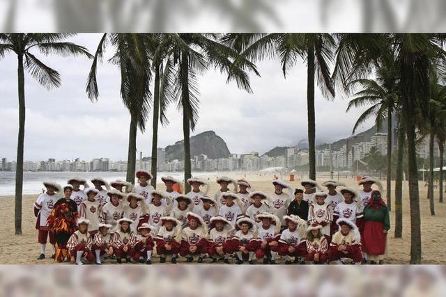 Zeller Botschafter an der Copacabana