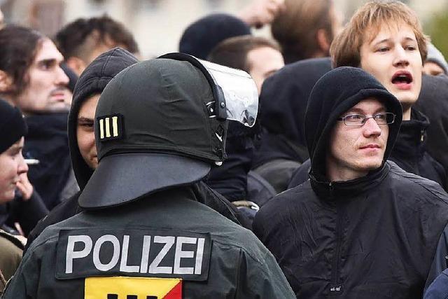 Weinheim: Antifaschistischer Protest eskaliert zu Gewalt
