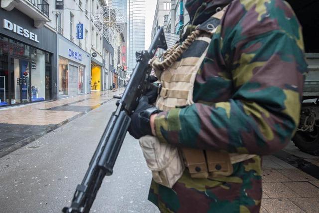 Höchste Terrorwarnstufe für Brüssel verhängt