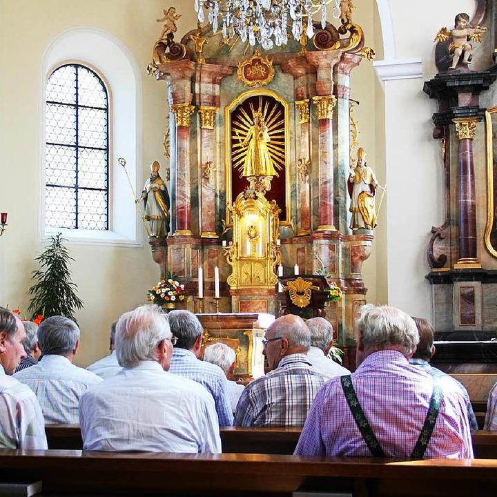 Dauerbeten in St. Peter: Seit 60 Jahre...rt die Gebetswache auf dem Lindenberg.  | Foto: Sven Veith