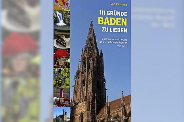 David Weigend: 111 Gründe Baden zu lieben