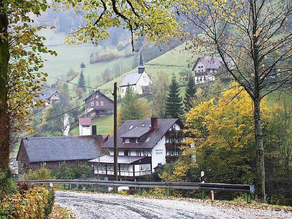 Der Simonswälder Ortsteil Wildgutach i...97 Einwohnr sind zudem weit verstreut.  | Foto: Gerhard Walser