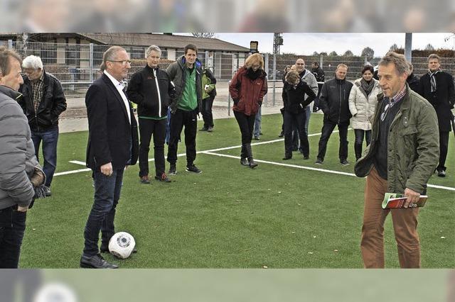 Ein besonderer Tag für den Fußball in Kenzingen