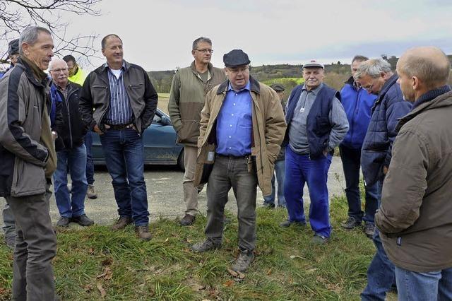 Winzer und Landwirte im Gespräch