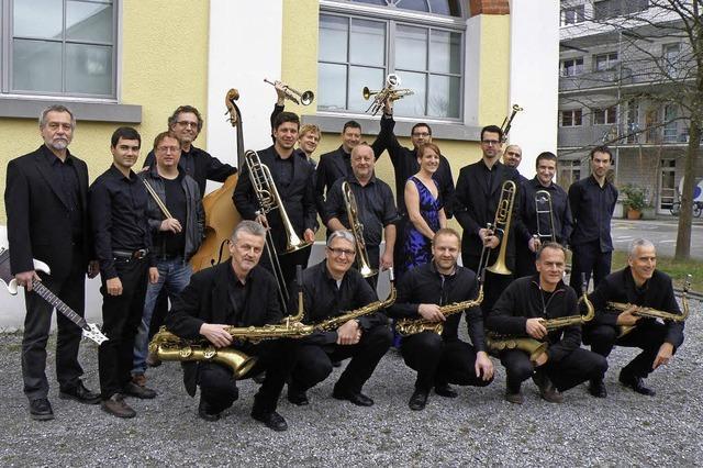 Drei Konzerte mit dem Big Sound Orchestra feat. John Ruocco in Lörrach, Rheinfelden und Grenzach-Wyhlen