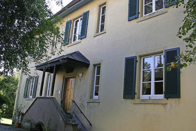 Seit 400 Jahren mehr als nur Wohnung der Tannenkircher Pfarrer