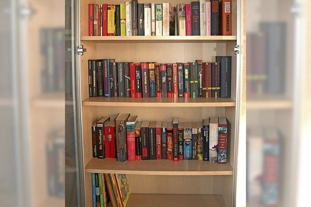 Ein öffentlicher Bücherschrank