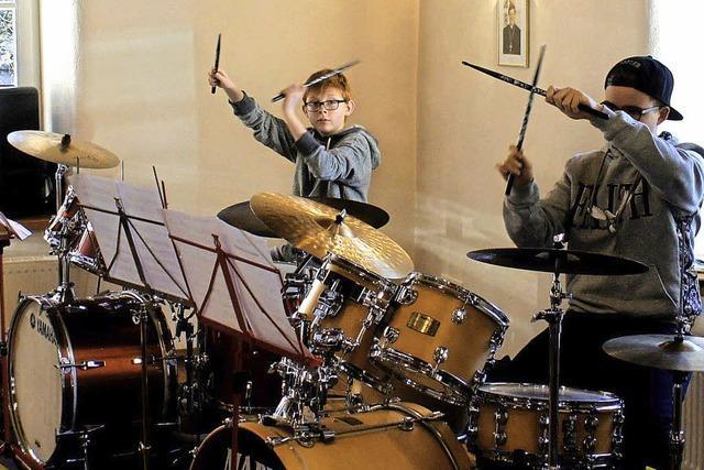 Nachwuchs zeigt musikalischen Fortschritt