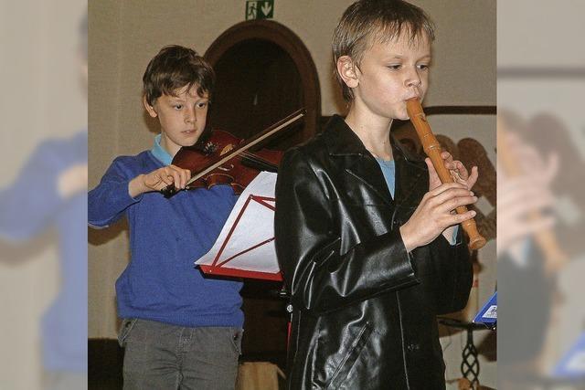 Wenn Familien gemeinsam musizieren