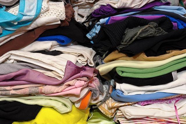 Kleidung, ein Wegwerfartikel