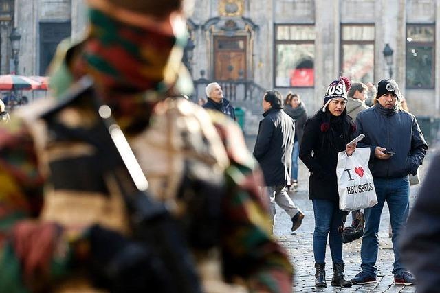 Die Bruxellois trotzen der Terrorangst