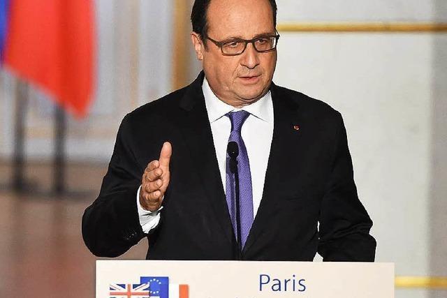 Hollande schmiedet globales Bündnis gegen den IS