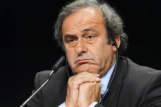Lebenslange Sperre für Uefa-Präsident Platini?