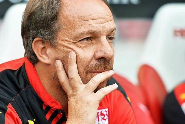 VfB Stuttgart trennt sich von Trainer Zorniger