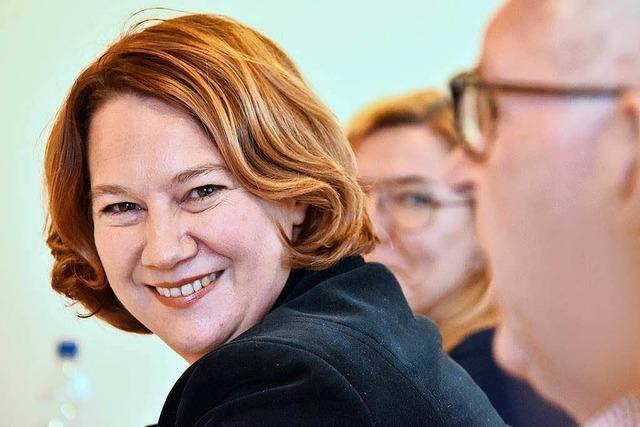 Franziska Pankow ist als Abteilungsleiterin künftig für den Tourismus in Freiburg zuständig