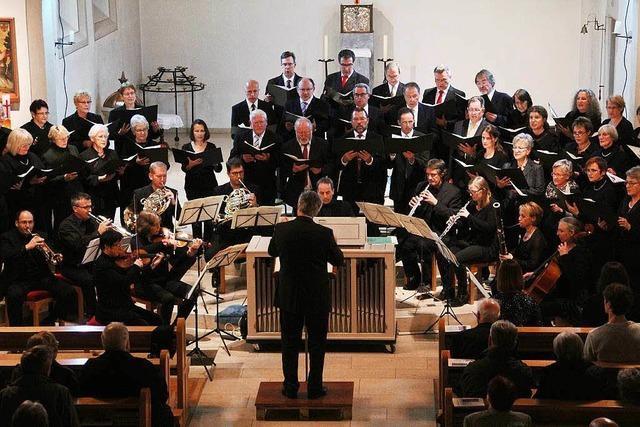 Kirchenchor St. Erasmus: Faszination mit Mozarts Werken