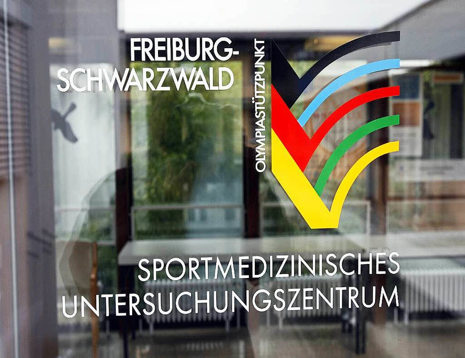 Eingang zur Freiburger Sportmedizin an der Universitätsklinik  | Foto: A2070 Rolf Haid