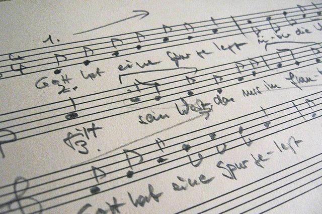 Schwarzwälder Liedzeilen zum Reformationsjubiläum