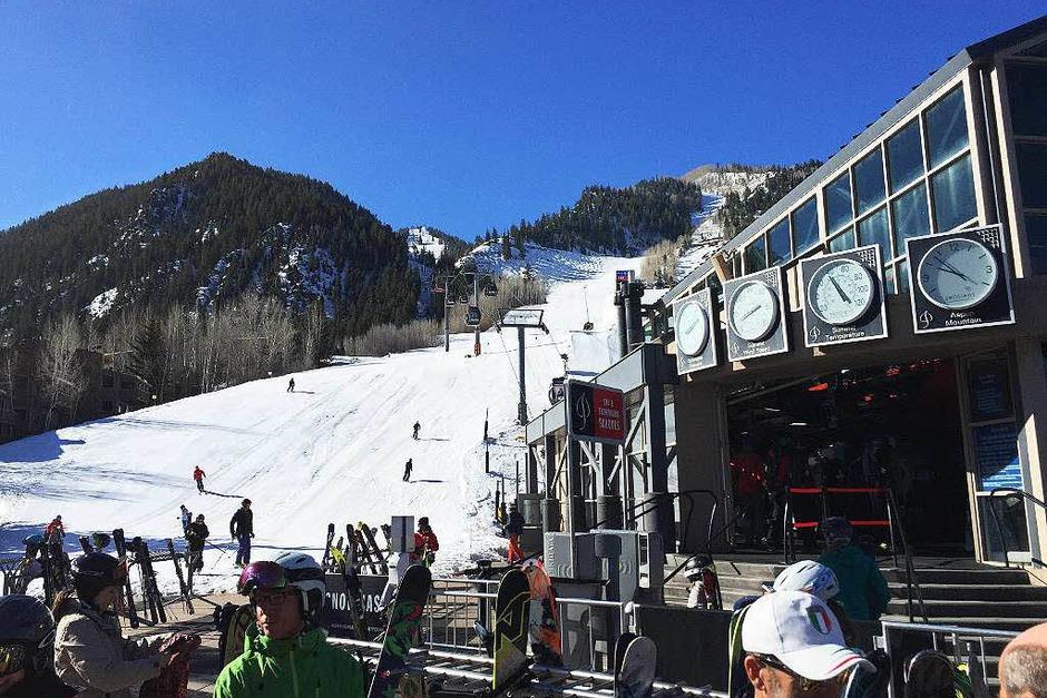Treffpunkt der Schönen und Reichen – und ein wirklich guter Ort zum Skifahren. Die Möglichkeiten sind vielfältig! (Foto: Stefan Zahler)