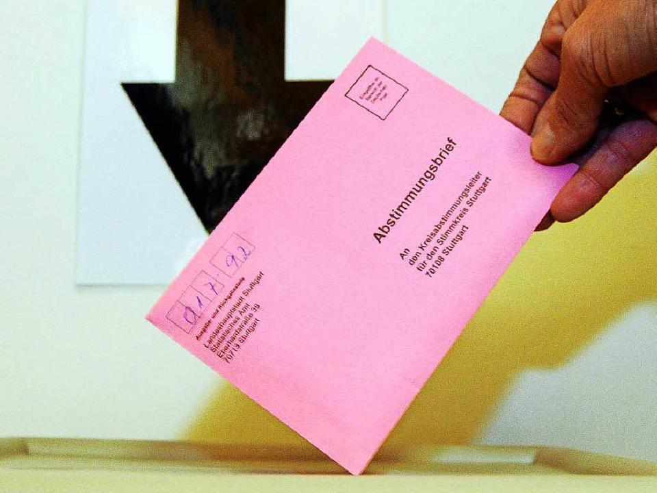 Das Zustimmungsquorum wurde auf 20 Prozent gesenkt.  | Foto: dpa