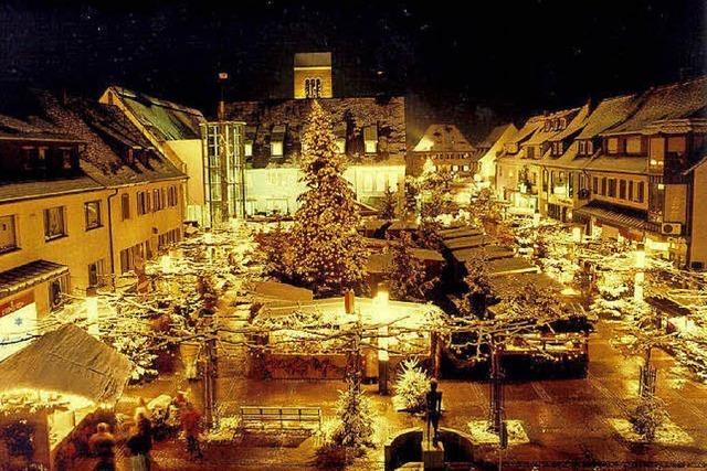 Adventsmärkte von Albbruck bis Weil am Rhein