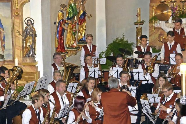 Bewegter Abschied vom Dirigenten