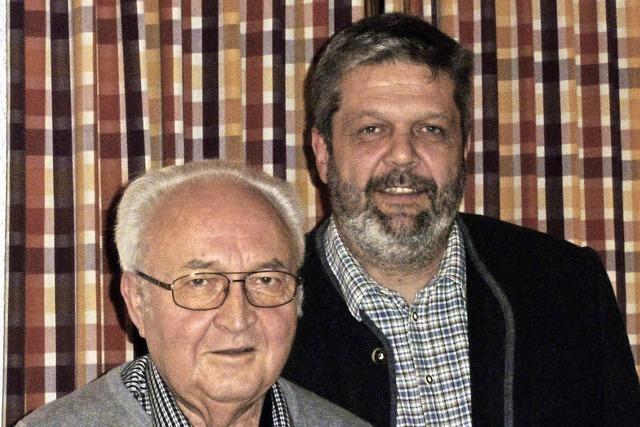 Heinz Schanz wurde zum Ehrenvorsitzenden ernannt