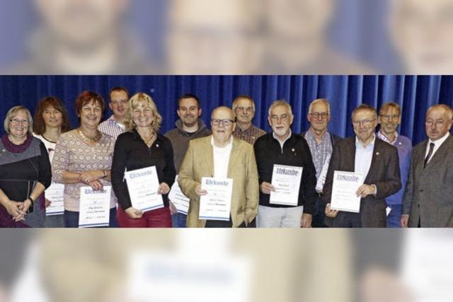 SV Dundenheim ehrt Mitglieder